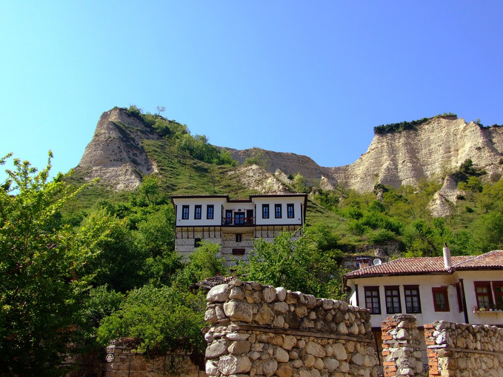 The scenic region of Melnik produces well-aging reds